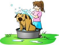Bath day royalty free illustration