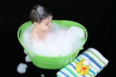 Bath de bulle photographie stock