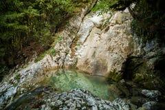 Bath de l'amour dans le canyon Photographie stock libre de droits