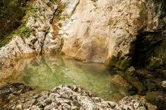 Bath de l'amour dans le canyon Photo libre de droits