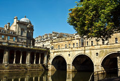 Bath de pont de Pulteney Photo stock