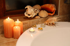 Bath decor Stock Photography