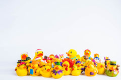 Bath duck om white background Royalty Free Stock Image