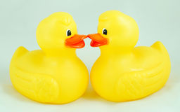Bath ducks Royalty Free Stock Photos