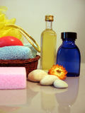 Bath elements Stock Image