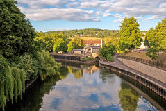 Bath, England, Avon river Royalty Free Stock Images