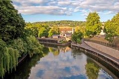 Bath, England, Avon river Royalty Free Stock Images