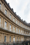 BATH, ENGLAND/ EUROPE - OCTOBER 18: View of The Circus in Bath S Royalty Free Stock Photography