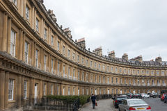 BATH, ENGLAND/ EUROPE - OCTOBER 18: View of The Circus in Bath S Stock Photos