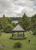 Bath, England - the park and the skies. Royalty Free Stock Photography