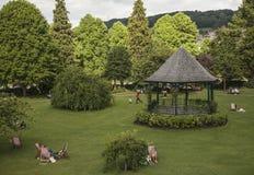 Bath, England - the park on a sunny day. Stock Photo