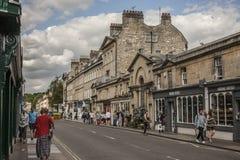 Bath, England - The Pulteney Bridge. Royalty Free Stock Images