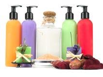 Bath essentials Royalty Free Stock Photos