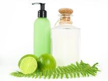 Bath essentials Stock Images