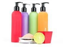 Bath essentials Stock Image