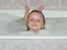 Bath face Stock Photography