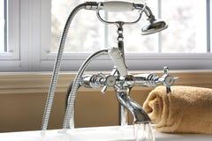 Bath faucet Stock Image