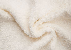 Bath fluffy towel Stock Images