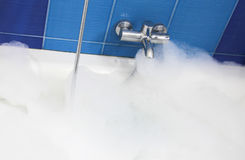 Bath foam Royalty Free Stock Images