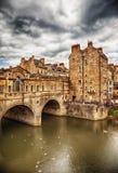 Bath historical bridge Stock Images