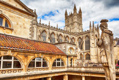 Bath historical therm Royalty Free Stock Image