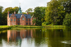 Bath House on Frederiksborg Slot Park Stock Image
