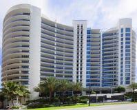 Bath House Miami Beach condominium Royalty Free Stock Photos