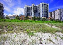 Bath House Miami Beach condominium Stock Photos