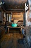 Bath-house rústico imagens de stock royalty free