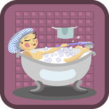 Bath Stock Image