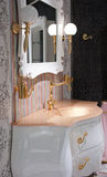 Bath, interior, decorate Stock Photography