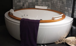 Bath, interior, decorate Stock Images