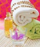 Bath items Stock Photo