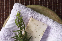 bath items spa Στοκ Εικόνα
