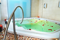 Bath of a jacuzzi Royalty Free Stock Photos