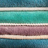 Bath and Kitchen Towels Royalty Free Stock Image