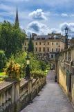 Bath médiéval de ville, Somerset, Angleterre Image libre de droits