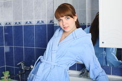 Bath in the morning Stock Photography