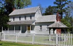 Bath, NC:  c. 1820 Bonner House Stock Photos