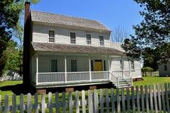 Bath, NC:  c. 1820 Bonner House Stock Photo