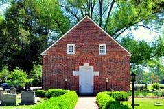 Bath, NC: 1734 St. Thomas Church Stock Image