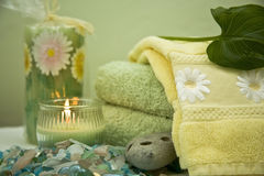 Bath Objects - Spa Retreat Royalty Free Stock Photo