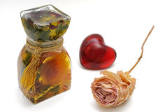 Bath Oils Stock Image