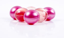 Bath oll balls Royalty Free Stock Photo