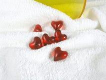 Bath pearls stock photography