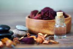 Bath products royalty free stock image