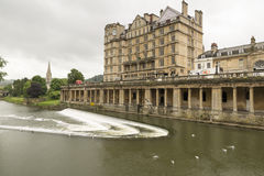 Bath Riverside Royalty Free Stock Photos