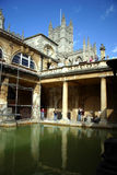 Bath romains (Bath ; l'Angleterre) Photo stock