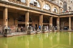 Bath romains Bath, Somerset, Angleterre Photo libre de droits