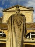 Bath. Roman bath statue hystorical Stock Image